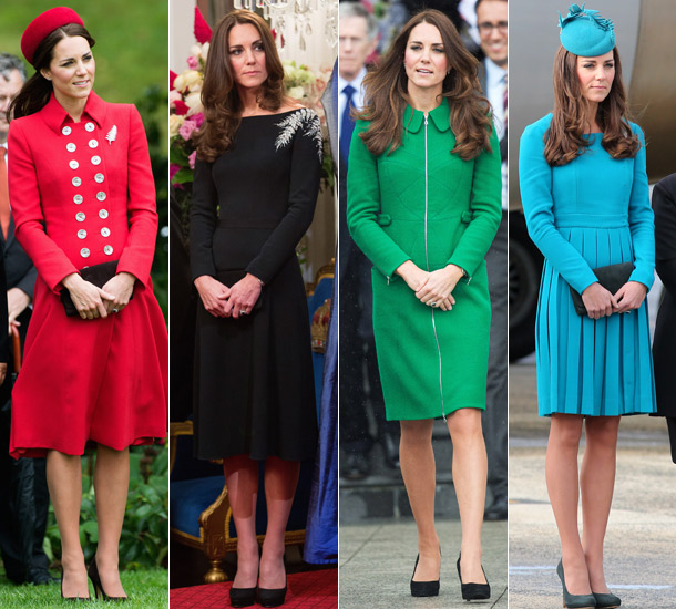 The dresses she wore during her New Zealand trip