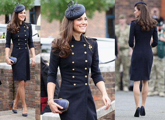 The military look in this dress is something that I really like! Very chic looking.